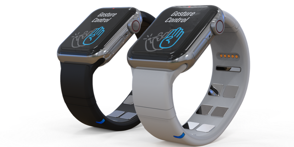 手のジェスチャーでApple Watchの動作を可能に Mudra Bandの挑戦