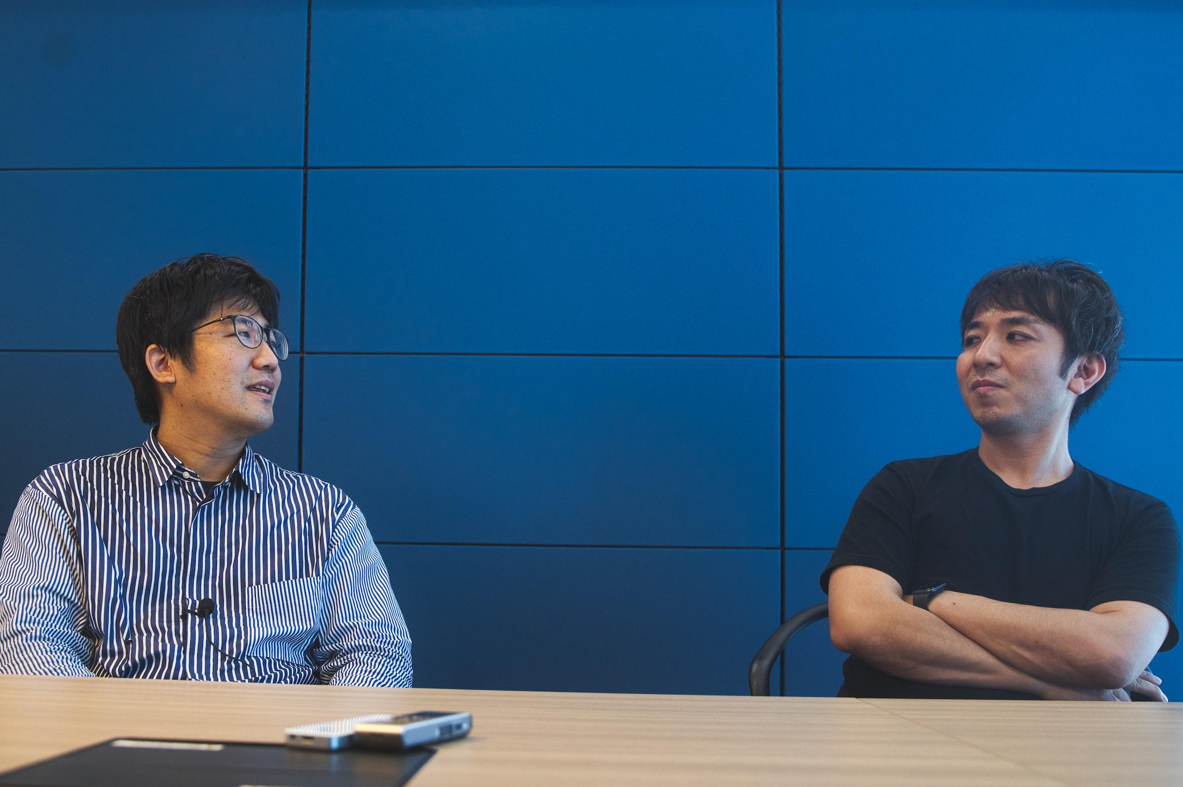 画像: (左から)中丸啓、田島康太郎