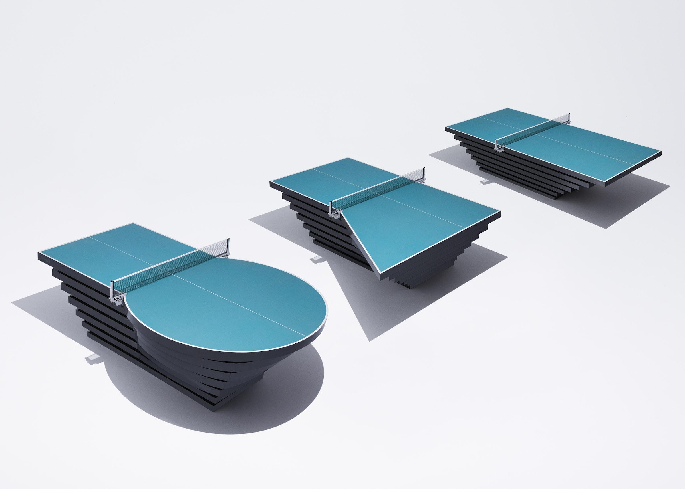 画像: 「Wheeliy」の他にもquantumが携わったプロジェクトとして、パラ卓球の選手の多様なチャレンジを再現した卓球台「PARA PINGPON TABLE」がある