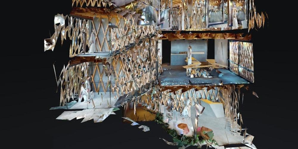 名建築でファッションを:Matterportで可能になる新しいファッションプレゼンテーション(前編)