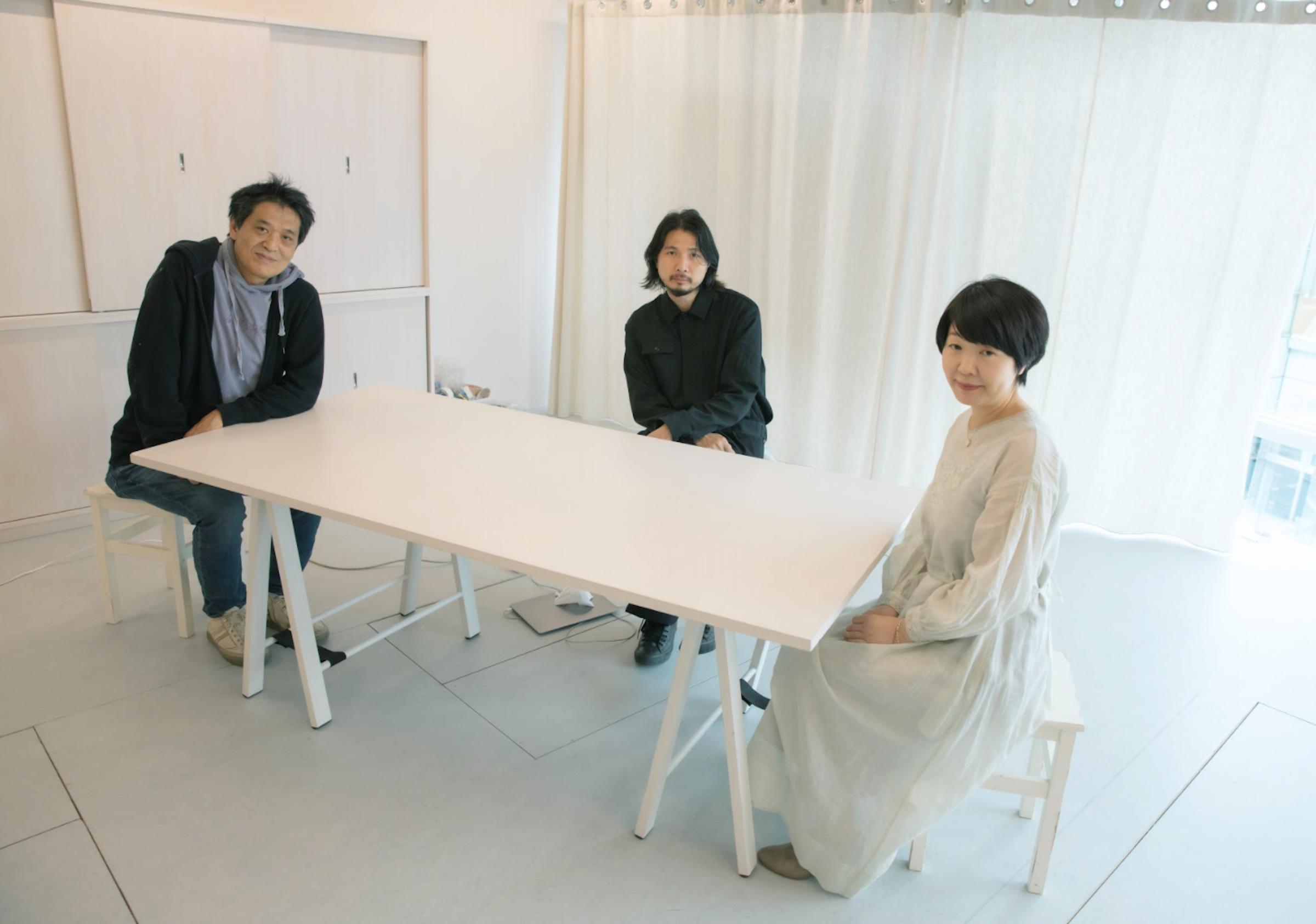 (左から)池上氏、山縣氏、宇野氏
