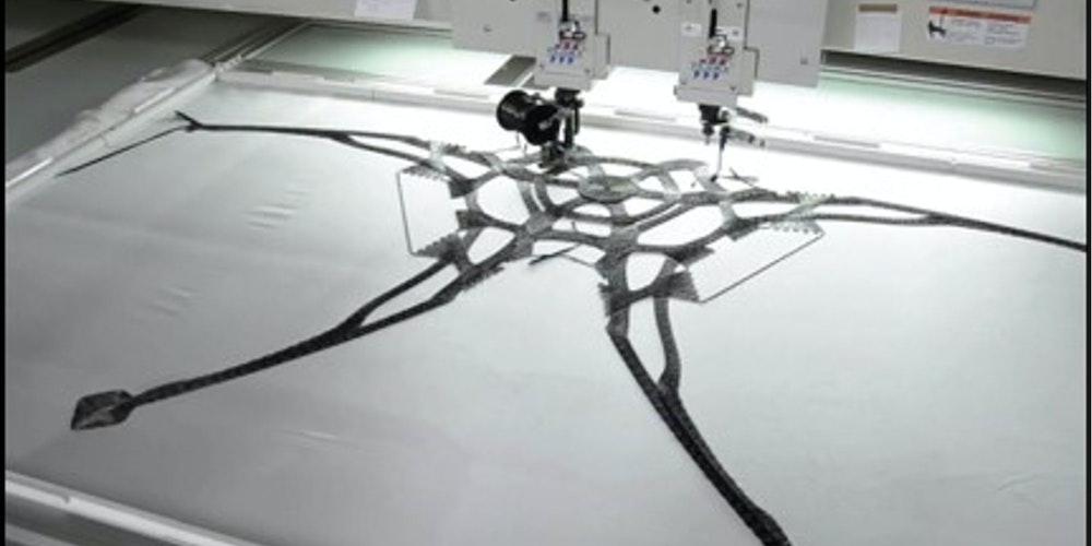 刺繍から生まれた新たな加工技術:タジマ工業の「TCWM Spec.2」