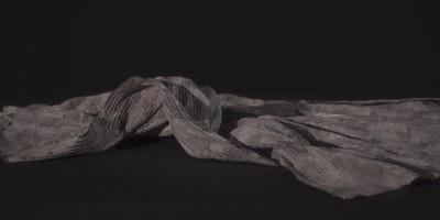 布の動きをキャプチャーする「Memories of Flow」:機能性と美を両立するテキスタイルへの挑戦