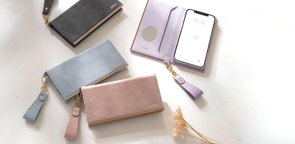 「[新着商品] iPhone 12/12Pro・iPhone 12 mini対応 スエードスタイルダイアリーケースに新色が登場。」のメインビジュアル画像です