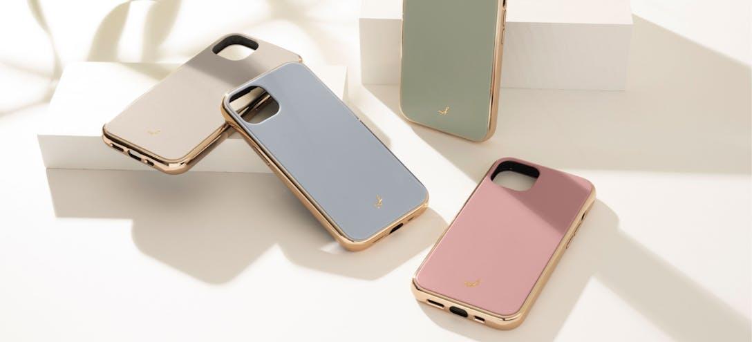 「[新着商品]iPhone 13/13 Pro専用「マットカラー耐衝撃ハードケース」をリリースしました。」のメインビジュアル画像です