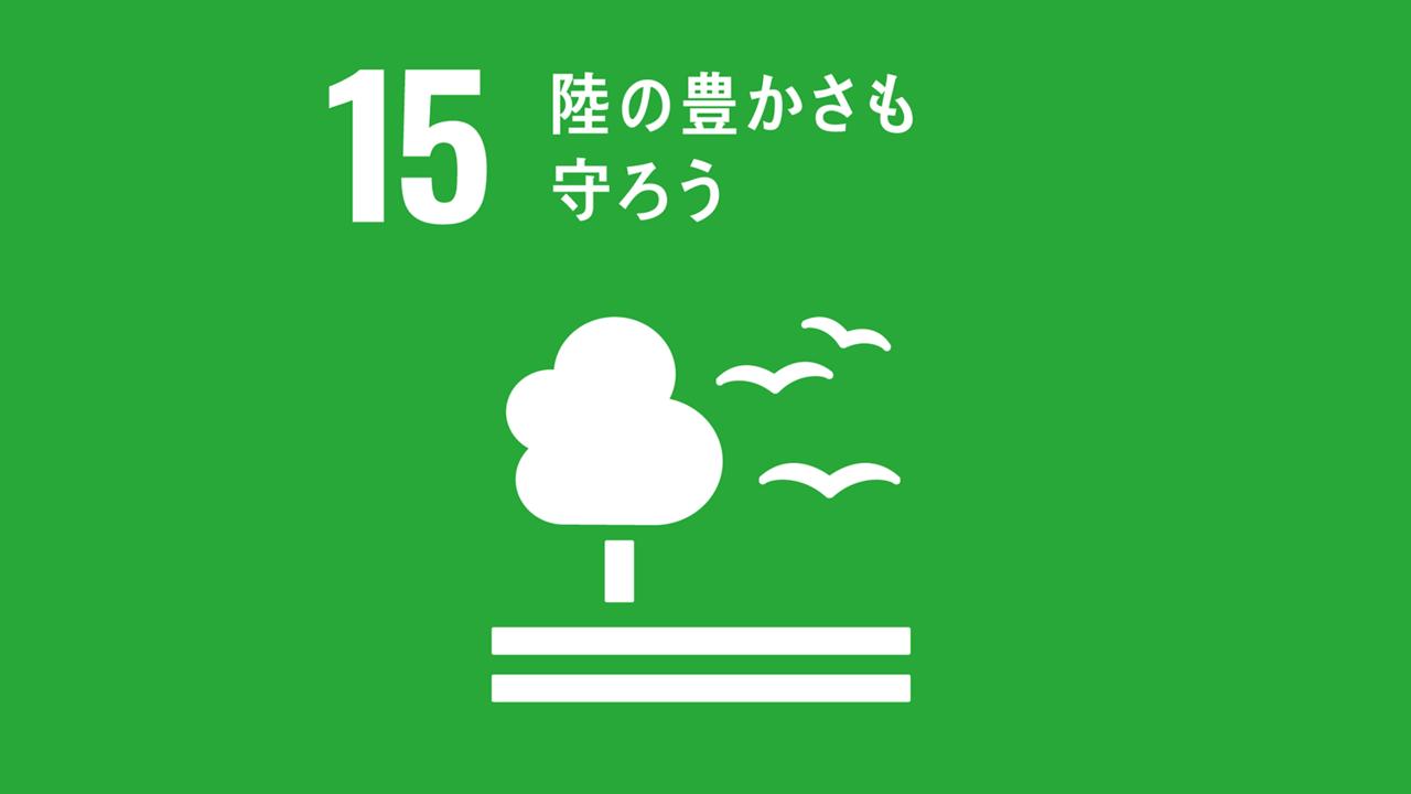 【SDGs 15.陸の豊かさも守ろう】の現状と私たちができること
