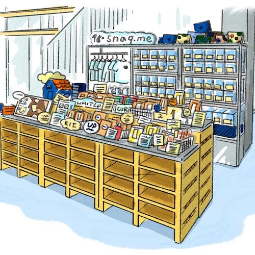 CLR BAR 販売店舗(2021年8月25日現在)