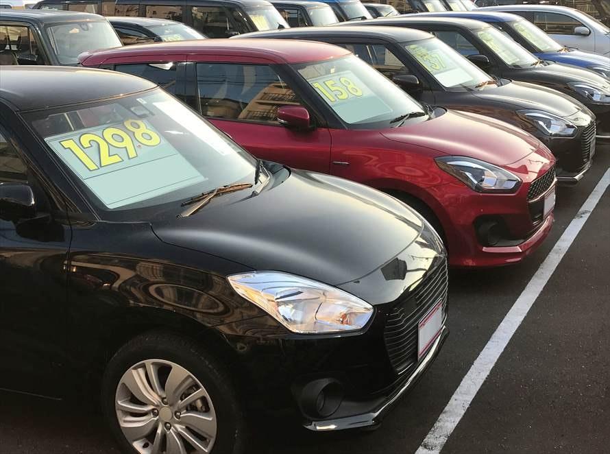 新車カーリースと中古車購入の初期費用を比較
