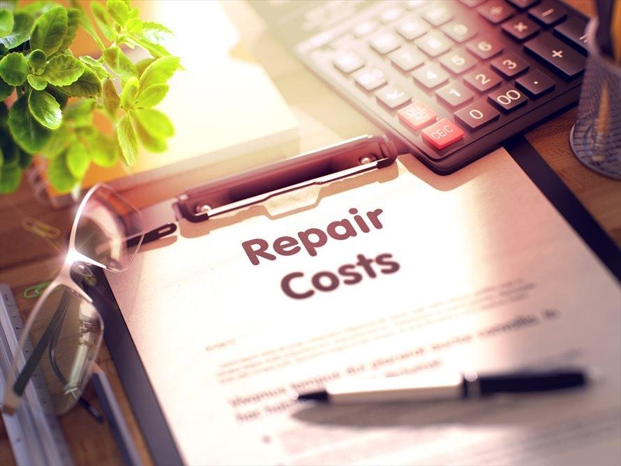 修理費用の目安はどれくらい?