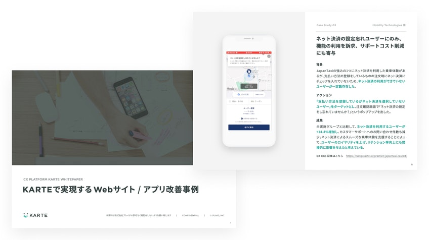 KARTEで実現するWebサイト / アプリ改善事例