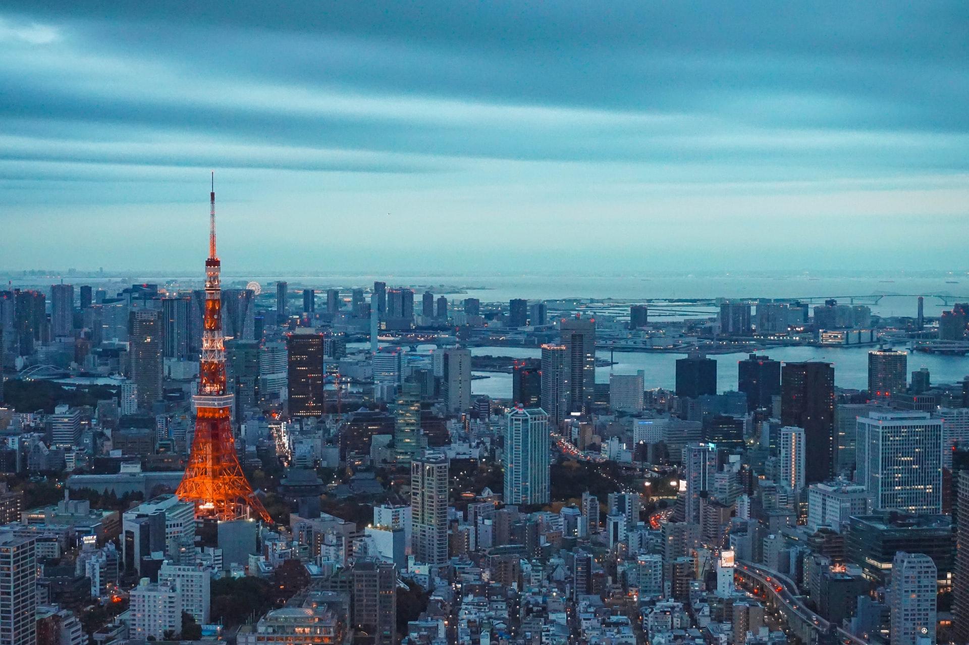 日本のビル群
