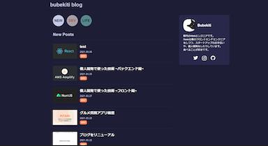 ブログをリニューアル