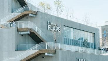 緑の豊かさを立体的に体感できる、ひな壇状の建築計画