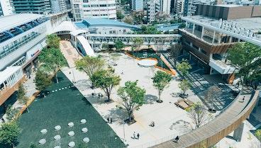 南口都市広場 流山市と連携した公共空間活用事業の取り組み