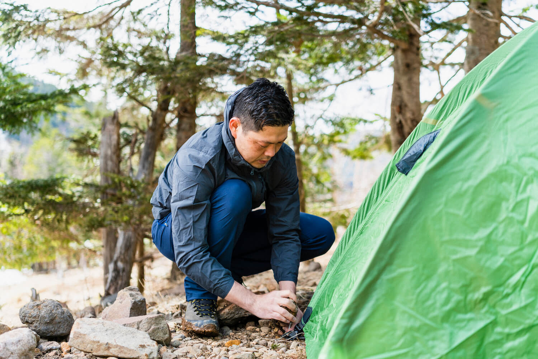 念願のテント泊デビューをYAMAP STOREがバックアップ。道具からハウツーまで必見です