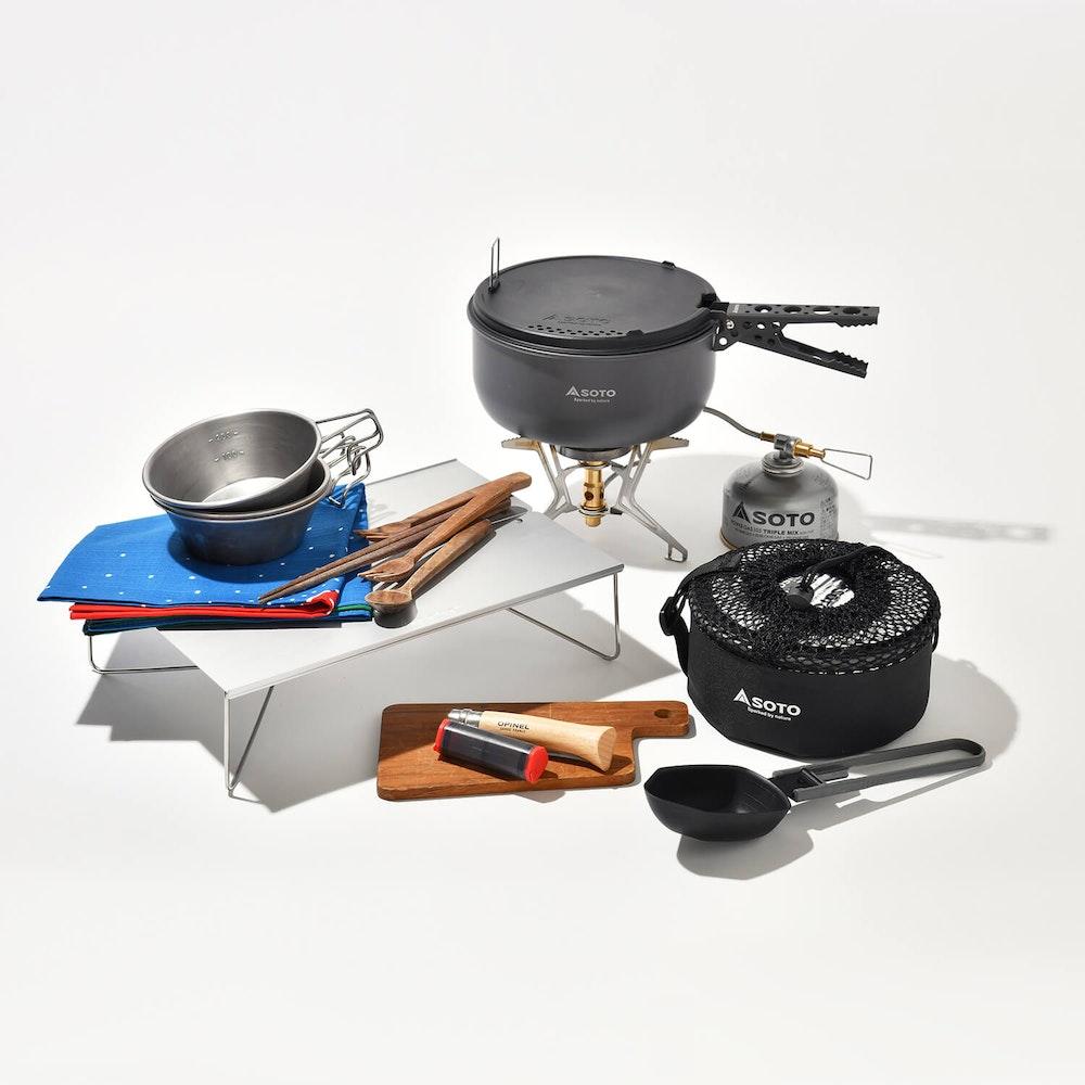 山の調理道具は「組み合わせ」でスマートに。 理想のセットが見つかる、シーン別ギアリストを大公開!
