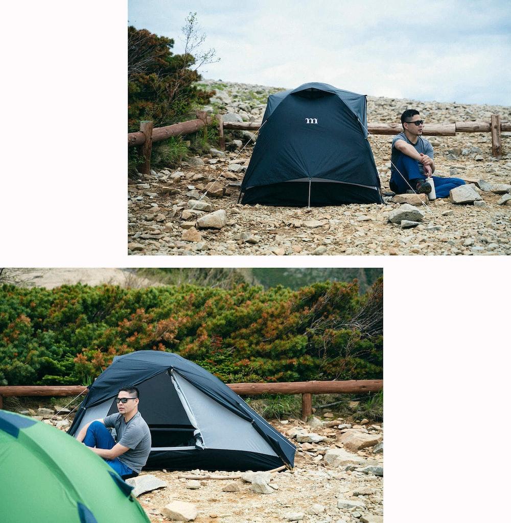 本気で登山と向き合うための山道具 -初夏の北アルプス