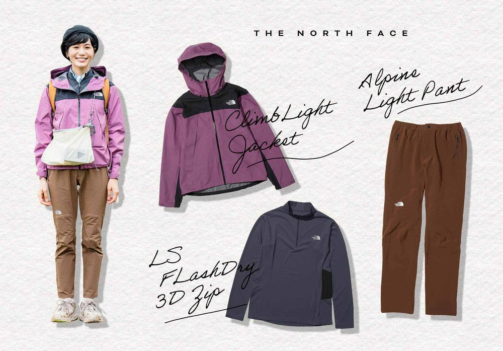 THE NORTH FACE コーディネート