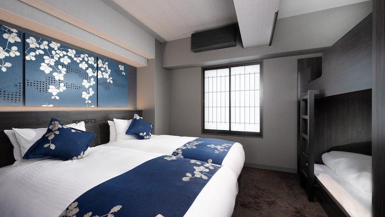 プレミアム2ベッドルームジャパニーズアパートメント
