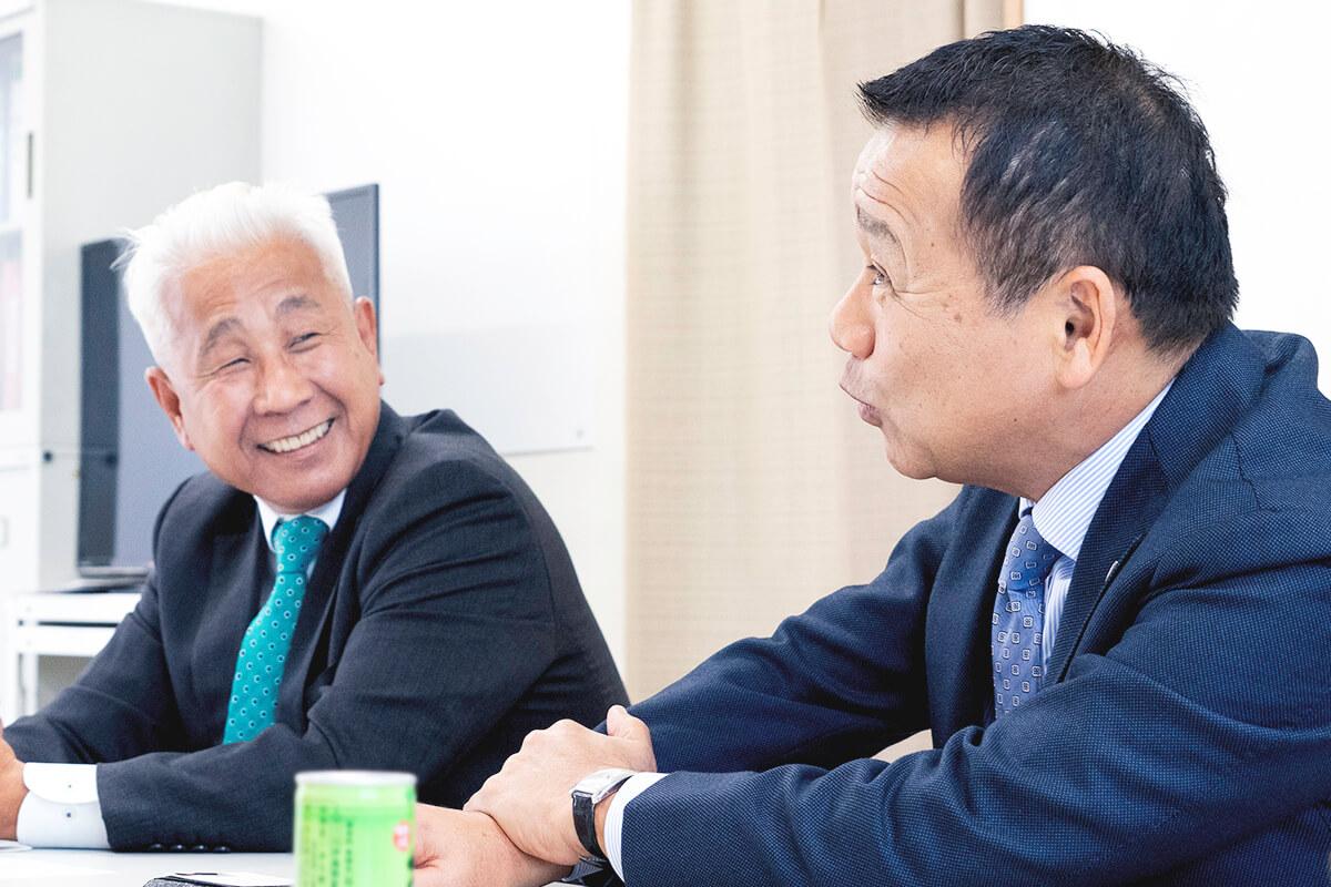 山本氏と兼子氏