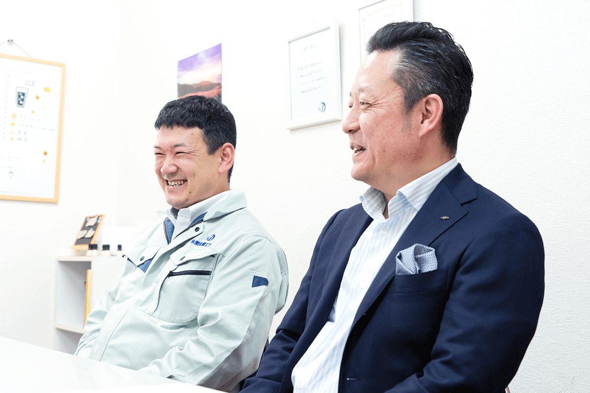 永野氏と堀内氏