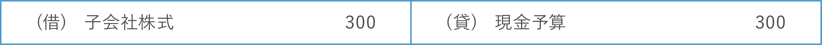 【譲受企業側】個別財務諸表における仕訳