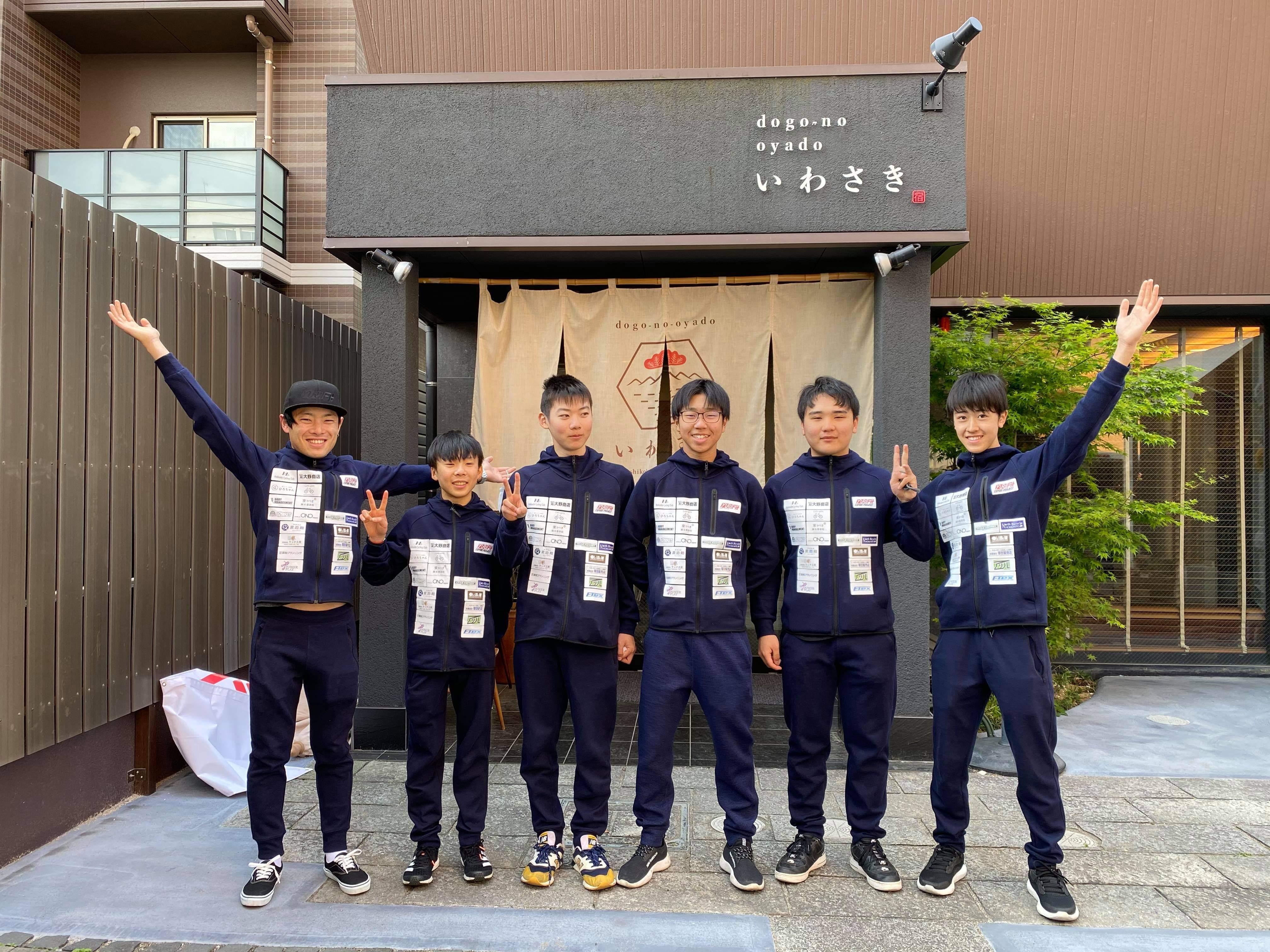 大阪へ移動、JBCF2連戦