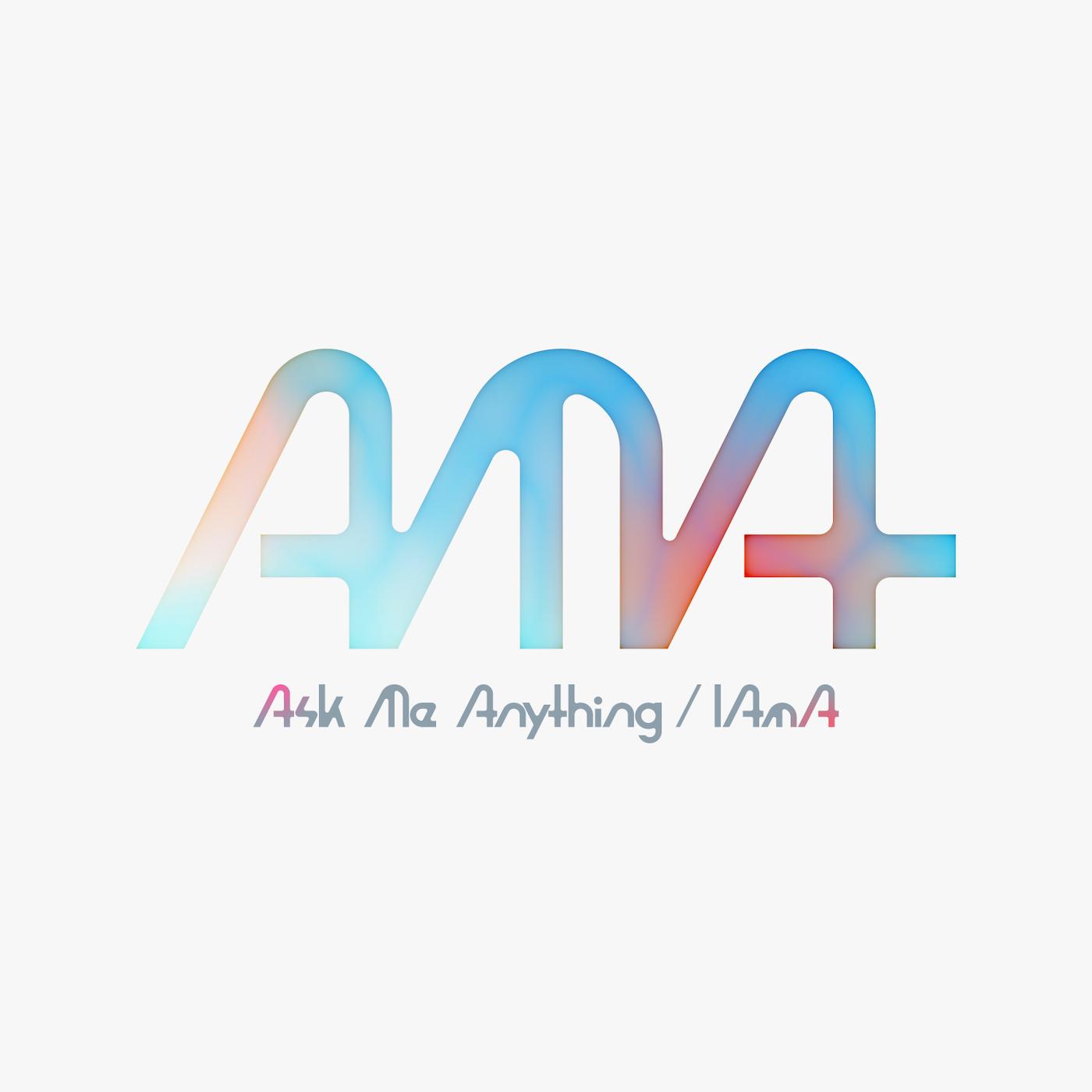 AMA Ask Me Anything / IAmA(タイトルデザイン)