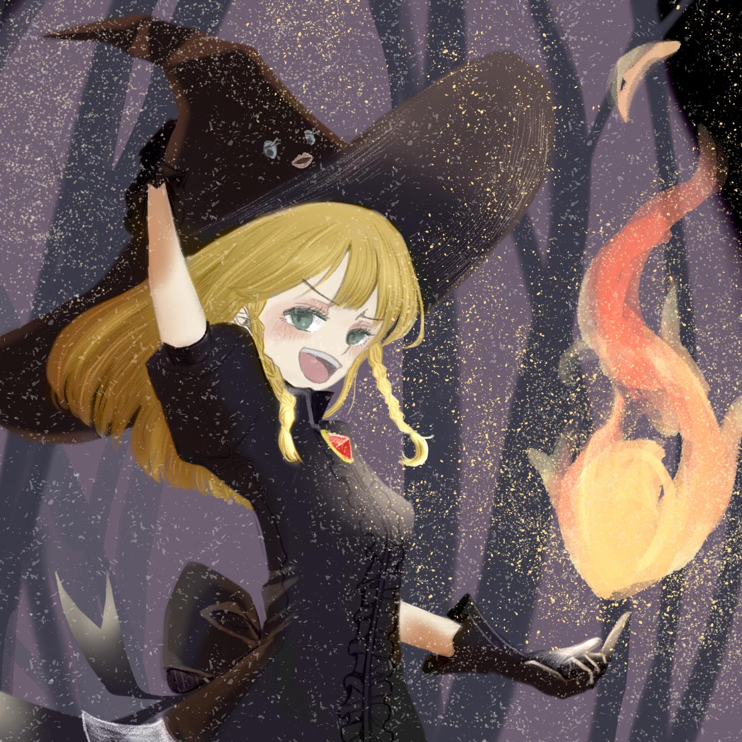 炎とミレちゃん